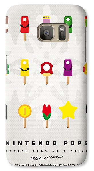 My Mario Ice Pop - Univers Galaxy S7 Case by Chungkong Art