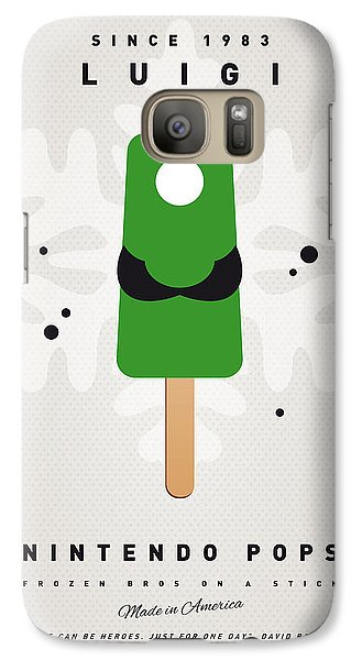 My Nintendo Ice Pop - Luigi Galaxy S7 Case by Chungkong Art
