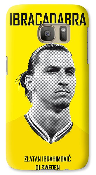 My Zlatan Soccer Legend Poster Galaxy Case by Chungkong Art