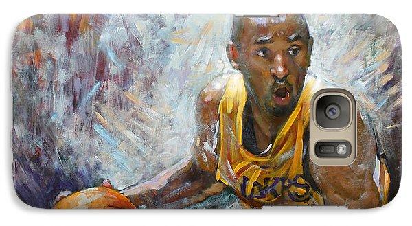 Nba Lakers Kobe Black Mamba Galaxy Case by Ylli Haruni
