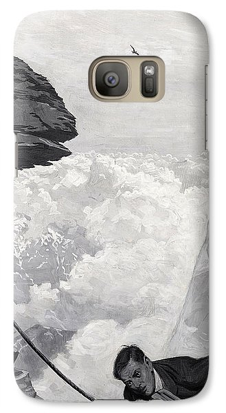 Nearly There Galaxy Case by Arthur Herbert Buckland