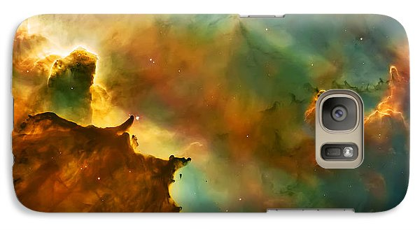 Nebula Cloud Galaxy Case by The  Vault - Jennifer Rondinelli Reilly