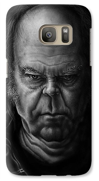 Neil Young Galaxy Case by Andre Koekemoer