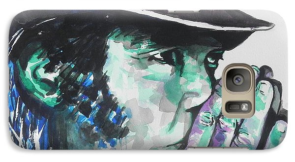 Neil Young Galaxy Case by Chrisann Ellis