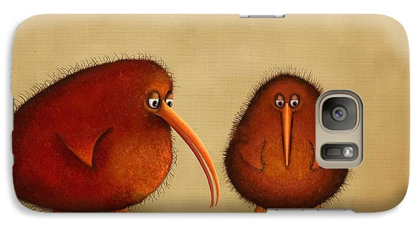 New Arrival. Kiwi Bird - Sweet As - Boy Galaxy S7 Case by Marlene Watson
