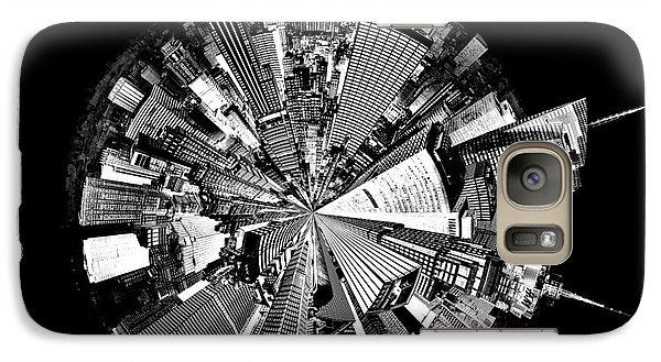New York 2 Circagraph Galaxy S7 Case by Az Jackson
