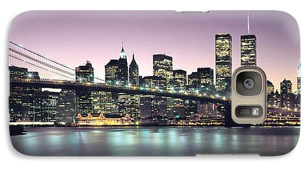 New York City Skyline Galaxy S7 Case by Jon Neidert