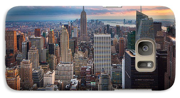 New York New York Galaxy S7 Case by Inge Johnsson