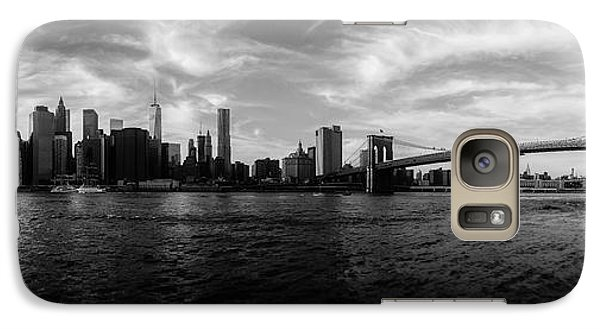 New York Skyline Galaxy S7 Case by Nicklas Gustafsson
