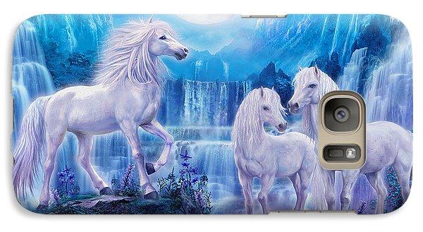 Night Horses Galaxy Case by Jan Patrik Krasny
