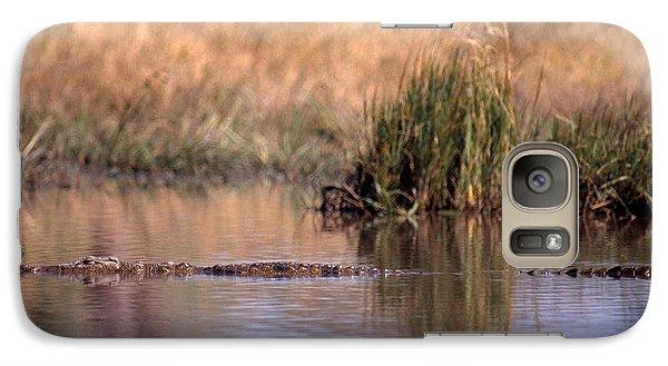 Nile Crocodile Galaxy S7 Case by Gregory G. Dimijian, M.D.