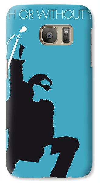 No035 My U2 Minimal Music Poster Galaxy S7 Case by Chungkong Art