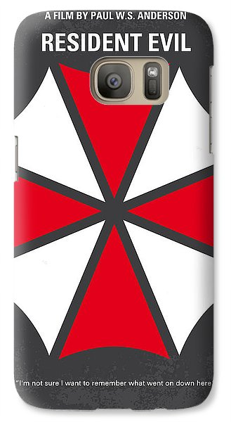 No119 My Resident Evil Minimal Movie Poster Galaxy Case by Chungkong Art