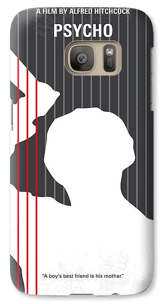 No185 My Psycho Minimal Movie Poster Galaxy S7 Case by Chungkong Art
