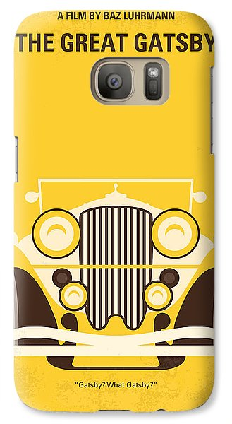 No206 My The Great Gatsby Minimal Movie Poster Galaxy S7 Case by Chungkong Art
