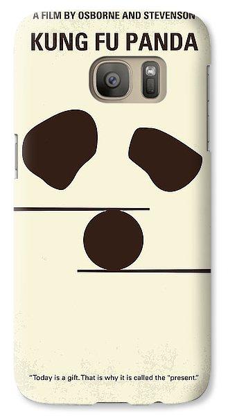 No227 My Kung Fu Panda Minimal Movie Poster Galaxy S7 Case by Chungkong Art