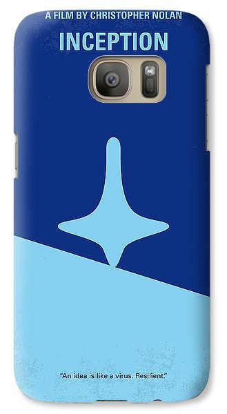 No240 My Inception Minimal Movie Poster Galaxy S7 Case by Chungkong Art