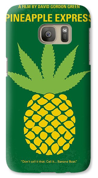 No264 My Pineapple Express Minimal Movie Poster Galaxy S7 Case by Chungkong Art