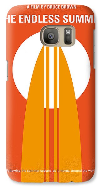 No274 My The Endless Summer Minimal Movie Poster Galaxy S7 Case by Chungkong Art