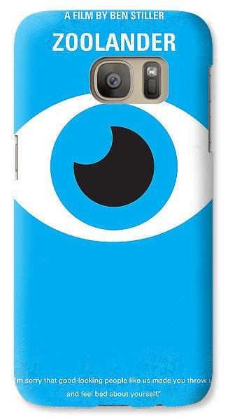 No362 My Zoolander Minimal Movie Poster Galaxy S7 Case by Chungkong Art