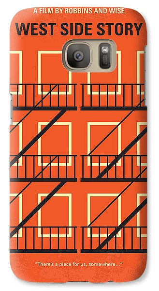 No387 My West Side Story Minimal Movie Poster Galaxy S7 Case by Chungkong Art