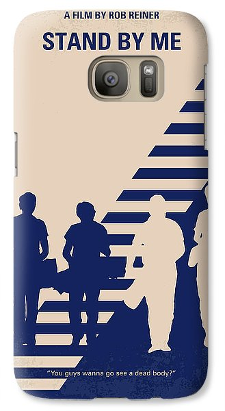 No429 My Stand By Me Minimal Movie Poster Galaxy S7 Case by Chungkong Art