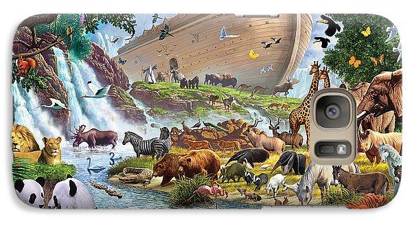 Noahs Ark - The Homecoming Galaxy Case by Steve Crisp