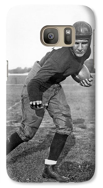 Notre Dame Star Halfback Galaxy S7 Case by Underwood Archives