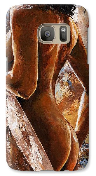 Nude 07 Galaxy S7 Case by Emerico Imre Toth