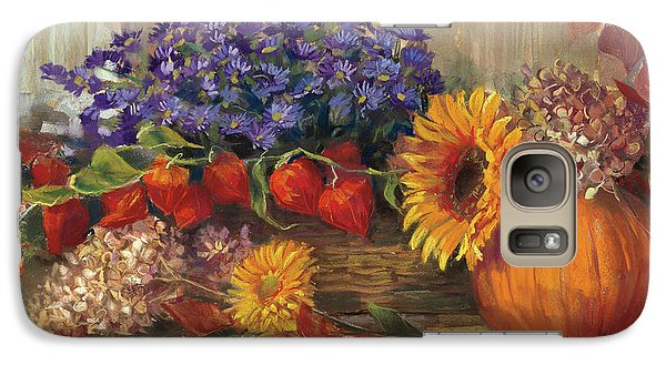 October Still Life Galaxy Case by Carol Rowan