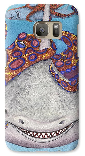 Octopied Galaxy Case by Catherine G McElroy