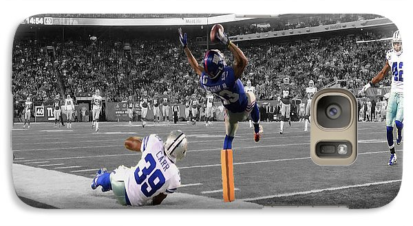 Odell Beckham Breaking The Internet Galaxy S7 Case by Brian Reaves