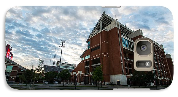 Oklahoma Memorial Stadium Galaxy Case by Nathan Hillis