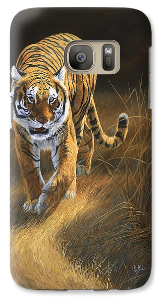 On The Move Galaxy Case by Lucie Bilodeau