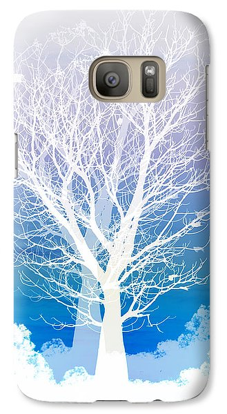 Once Upon A Moon Lit Night... Galaxy Case by Holly Kempe