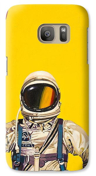 One Golden Arch Galaxy Case by Scott Listfield