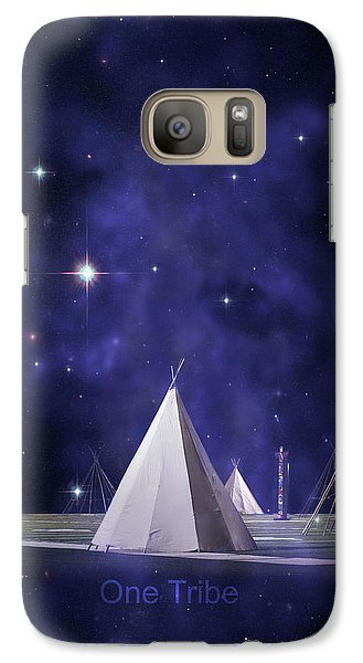 One Tribe Galaxy Case by Laura Fasulo