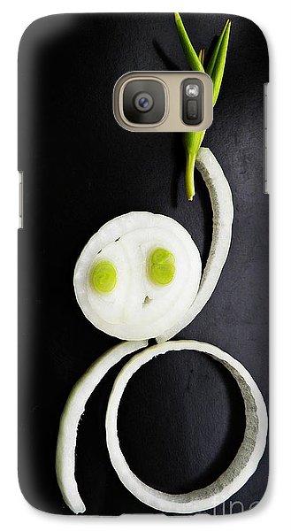 Onion Baby Galaxy S7 Case by Sarah Loft