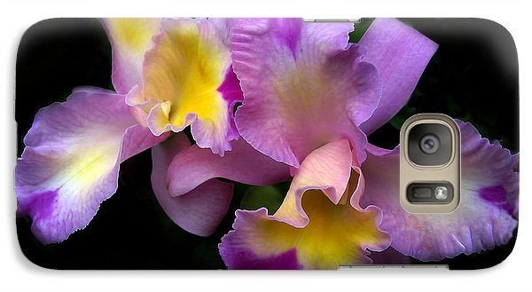 Orchid Embrace Galaxy S7 Case by Jessica Jenney