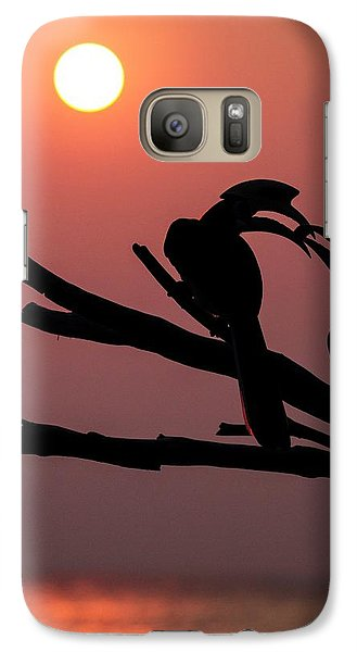 Oriental Pied Hornbills Galaxy S7 Case by Paul Williams