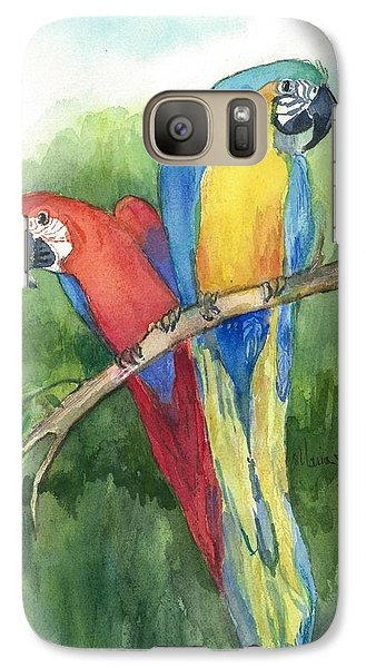 Out For Lunch In The Wild Galaxy S7 Case by Maria Hunt