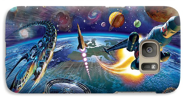 Outer Space Galaxy Case by Adrian Chesterman