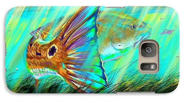 Over The Grass  Galaxy S7 Case by Yusniel Santos
