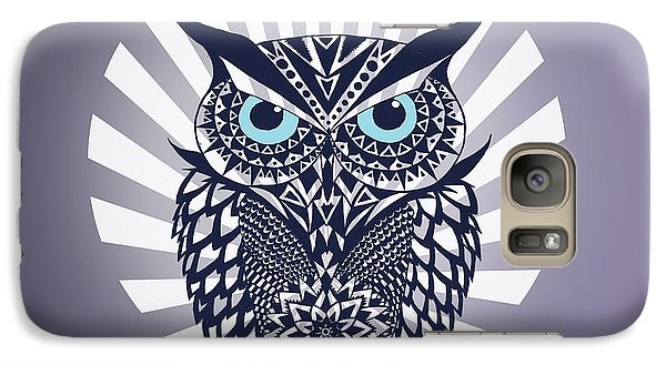 Owl Galaxy S7 Case by Mark Ashkenazi
