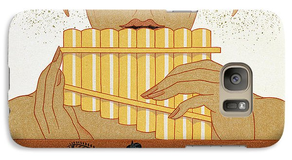 Pan Piper Galaxy S7 Case by Georges Barbier