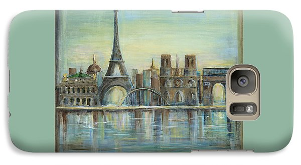 Paris Highlights Galaxy S7 Case by Marilyn Dunlap