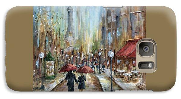 Paris Lovers Ill Galaxy Case by Marilyn Dunlap