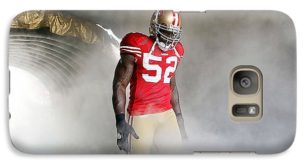 Patrick Willis Galaxy Case by Marvin Blaine