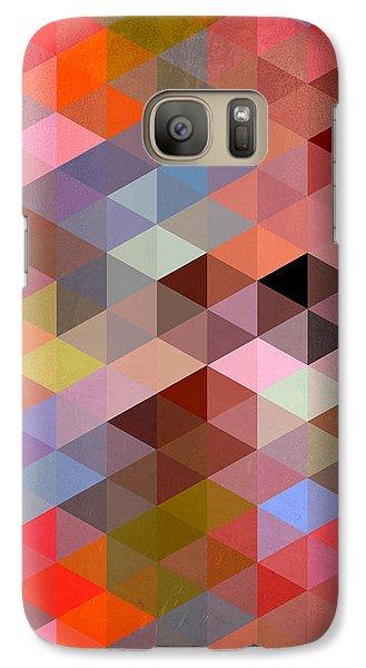 Pattern Of Triangle Galaxy Case by Mark Ashkenazi