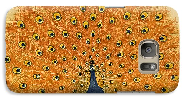 Peacock Galaxy S7 Case by English School